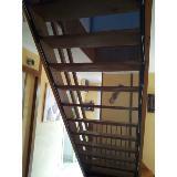 Filet sous escalier sans contremarches